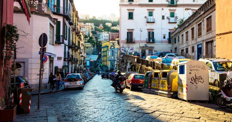 Neapel-Geburtsort von Pizza und Diabetes